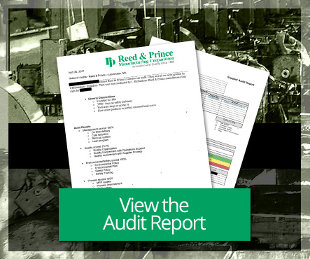 View the RP Customer Audit Report